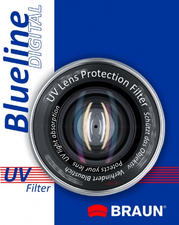 Braun 58mm Blueline UV Filter