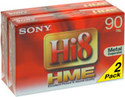 Sony 2E590HME 2-pack Hi8 ME Camcorder Tape