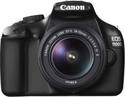 Canon EOS 1100D + EF-S 18-55mm + Tripod, SLR Bag, 8GB SD