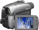 Sony DCR-HC27E hand-held camcorder