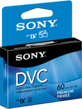 Sony DVM60PRRH blank video tape